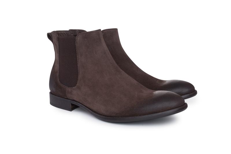 Pánska módna obuv  , farba hnedá