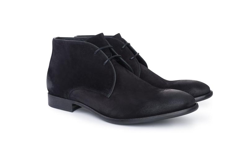 Pánska módna obuv  , farba čierna