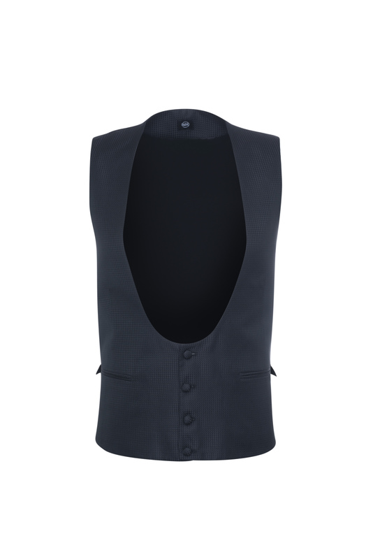 Pánska vesta  , farba čierna
