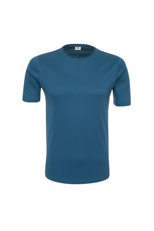Triko informal extra slim, farba modrá