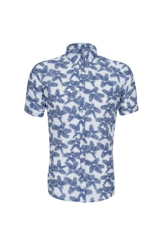 Košeľa , farba modrá