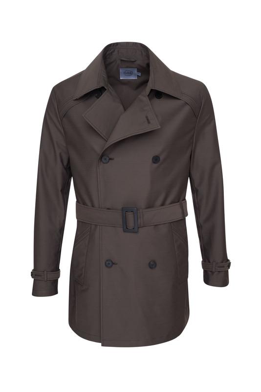 Plášť , farba hnedá