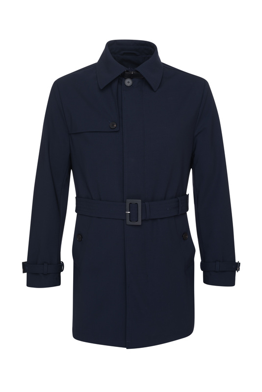 Plášť , farba modrá