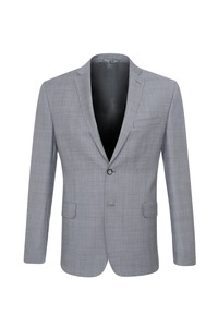 Oblekové sako , farba sivá