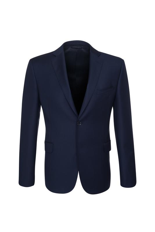Oblekové sako essential sport, farba modrá