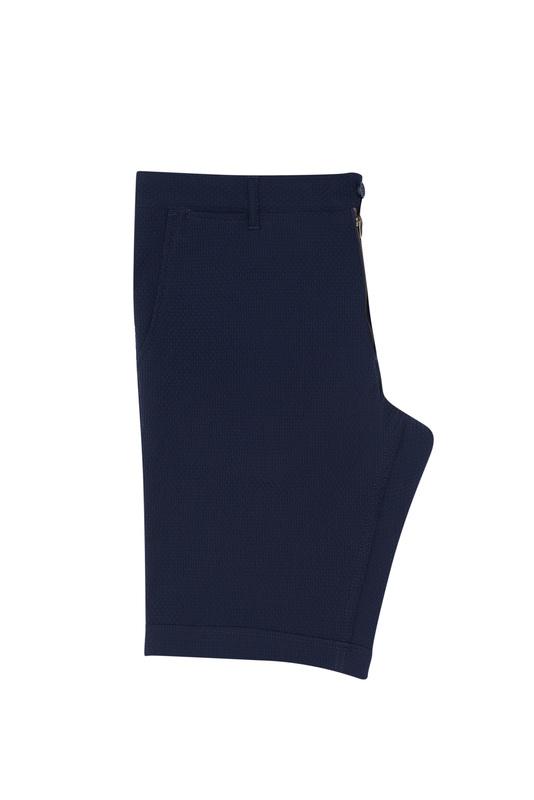 Krátke nohavice , farba modrá
