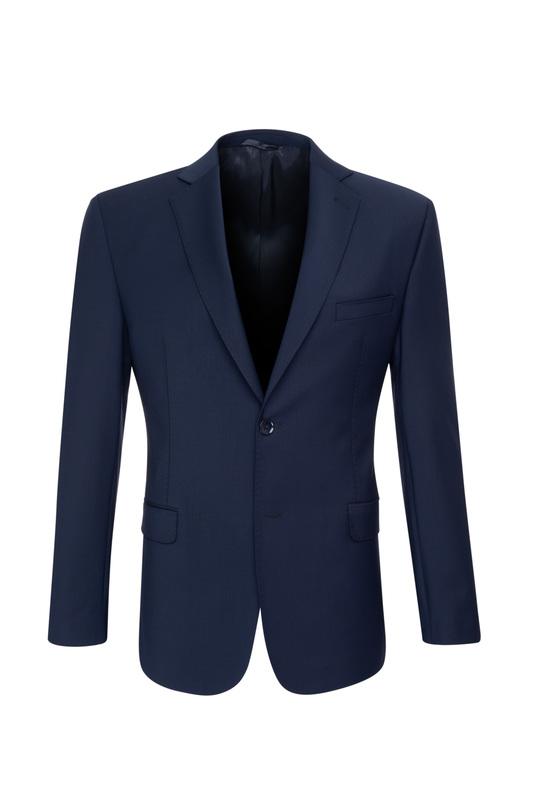 Oblekové sako  slim, farba modrá