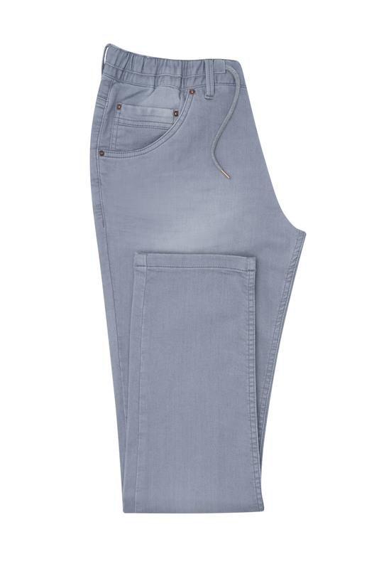 Nohavice casual extra slim, farba sivá