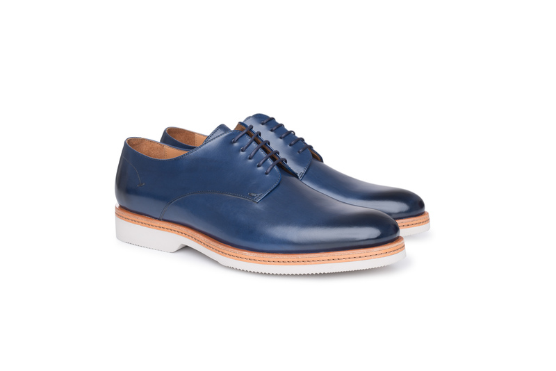 Obuv informal, farba modrá