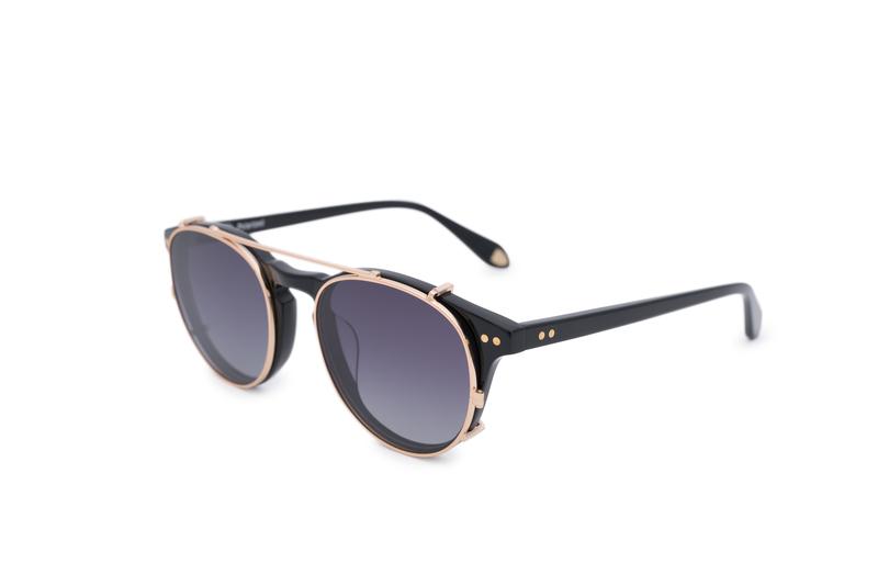 Slnečné okuliare informal, farba čierna