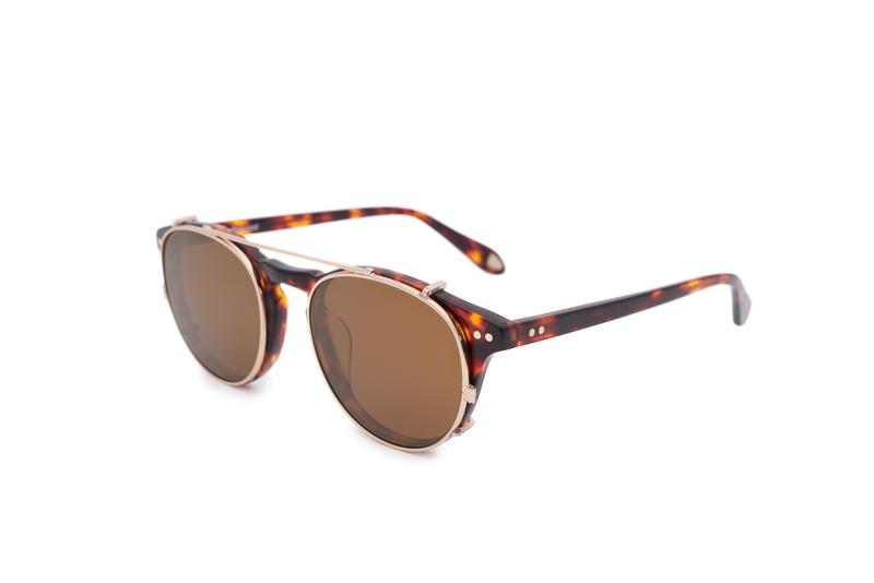 Slnečné okuliare informal, farba hnedá