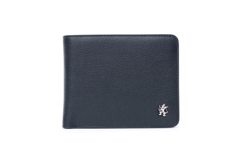 Peňaženka formal, farba čierna