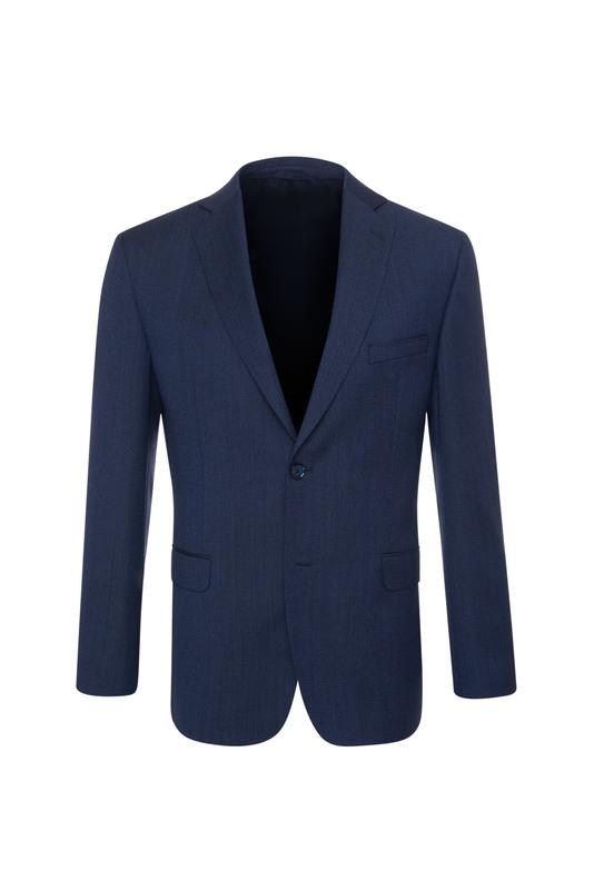 Oblekové sako formal sport, farba modrá