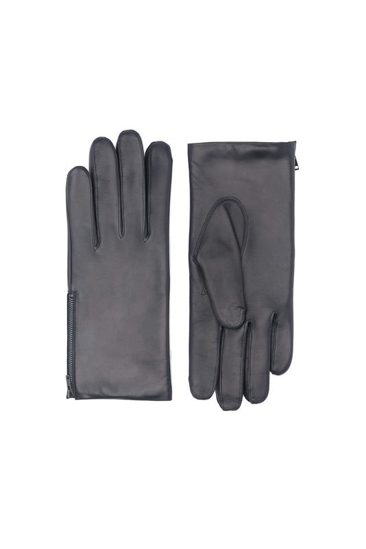 Rukavice formal slim, farba čierna