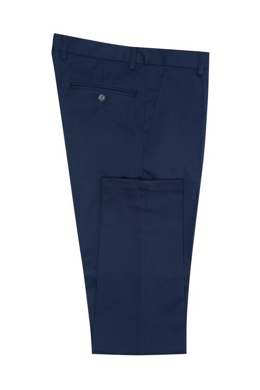 Nohavice informal extra slim, farba modrá