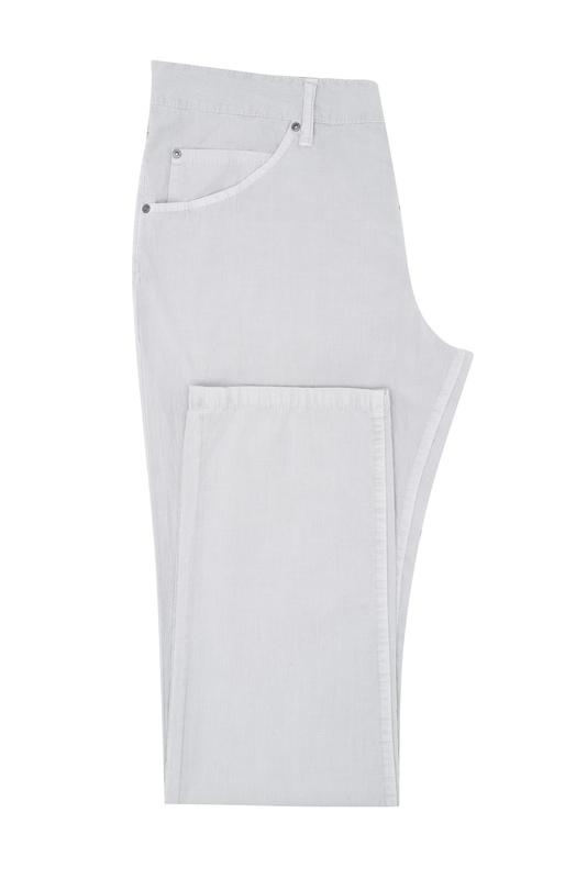Nohavice , farba sivá