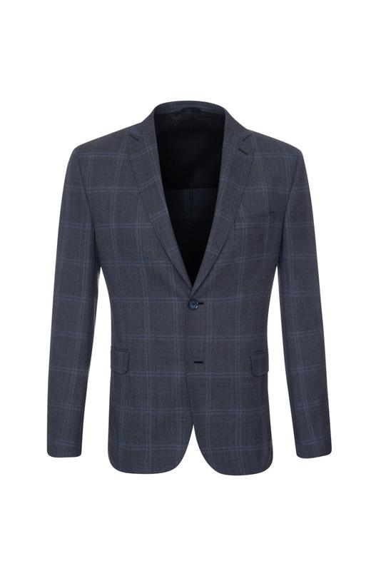 Oblekové sako formal extra slim, farba sivá