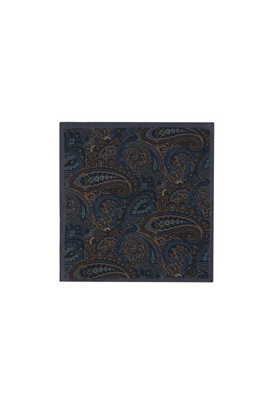 Vreckovka  informal, farba hnedá, modrá