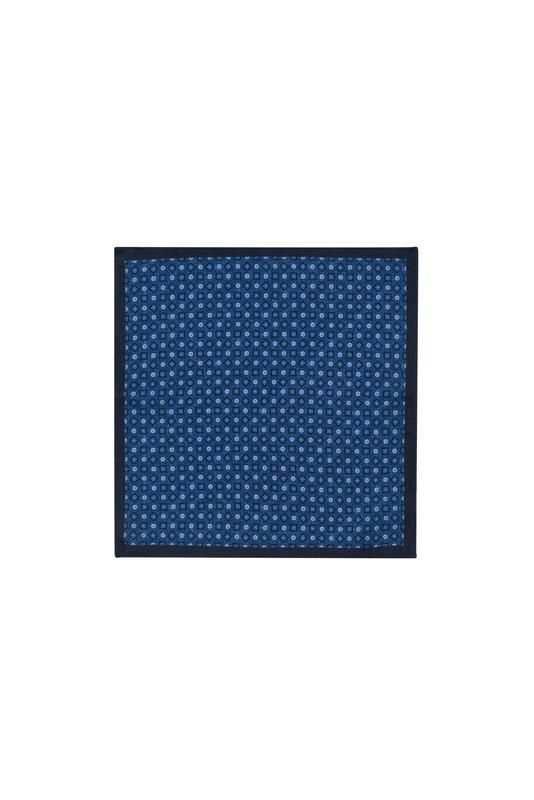 Vreckovka  informal, farba modrá