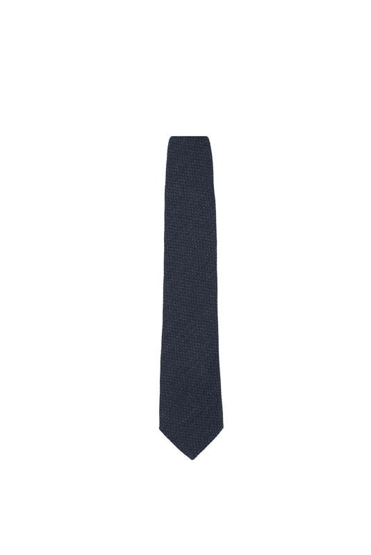 Kravata informal, farba šedá, modrá
