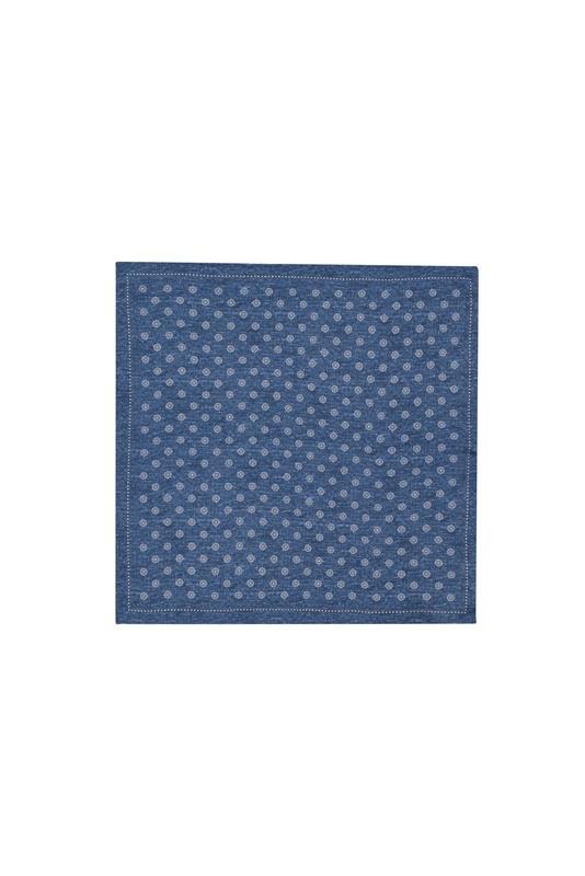 Vreckovka  formal, farba modrá