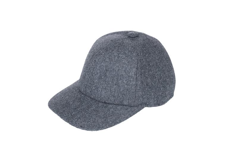 Čiapka informal, farba sivá