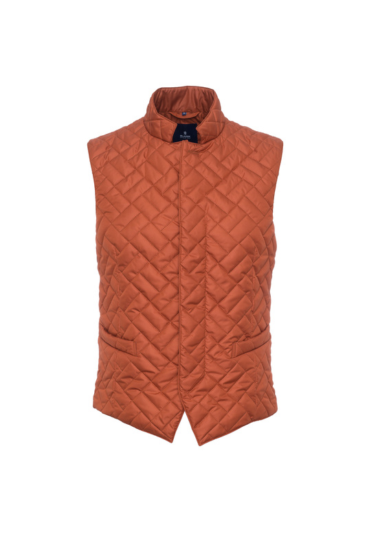 Vesta informal slim, farba oranžová