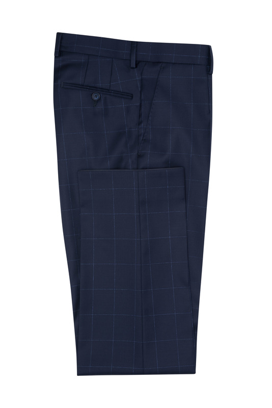 Oblekové nohavice formal sport, farba modrá