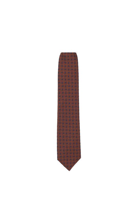 Kravata formal, farba hnedá