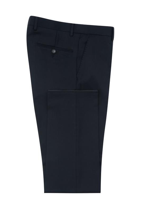 Oblekové nohavice formal slim, farba čierna
