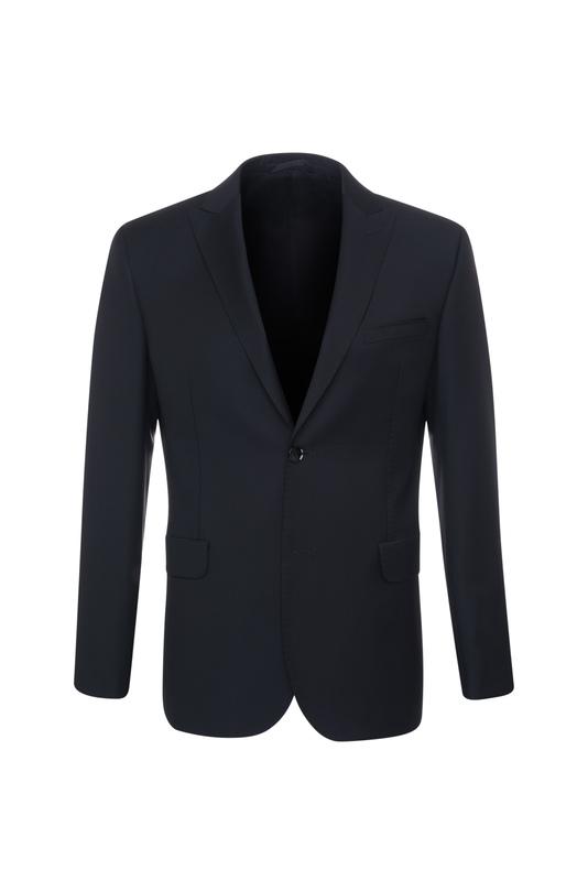Oblekové sako formal slim, farba čierna