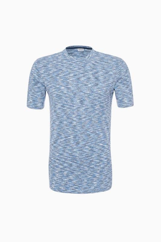 Tričko informal extra slim, farba modrá