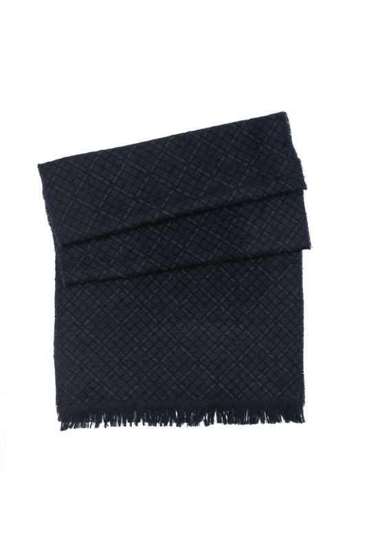 Šál informal, farba čierna