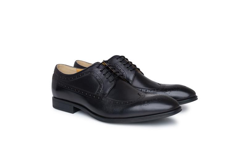 Obuv formal slim, farba čierna