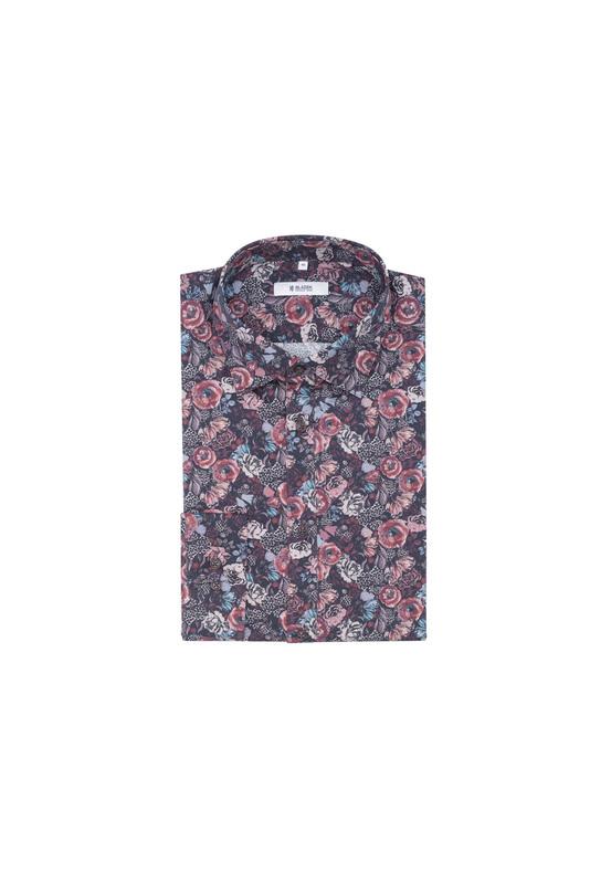 Košeľa informal, farba fialová
