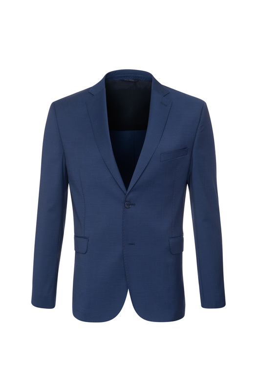 Oblekové sako formal extra slim, farba modrá