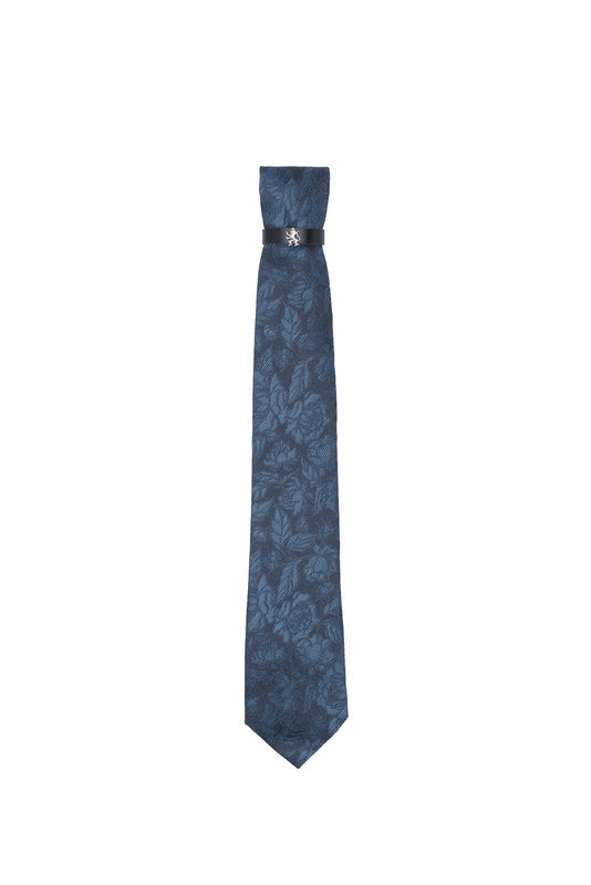 Kravata formal, farba modrá