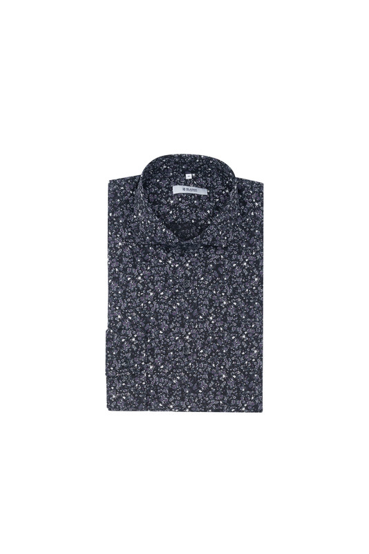 Košeľa informal slim, farba čierna