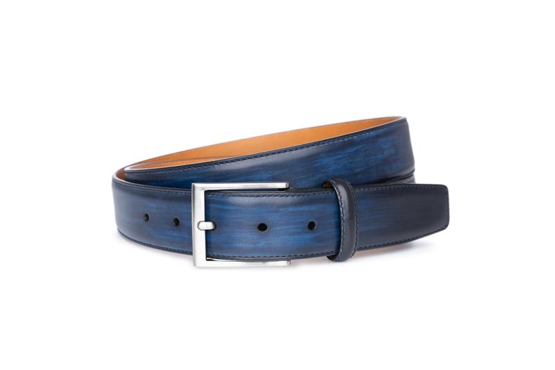 Opasok informal, farba modrá