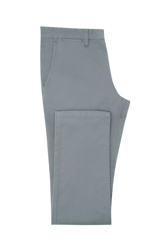 Nohavice informal extra slim, farba sivá