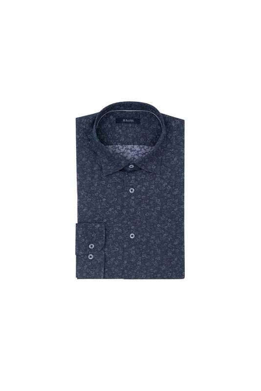 Košeľa informal extra slim, farba modrá