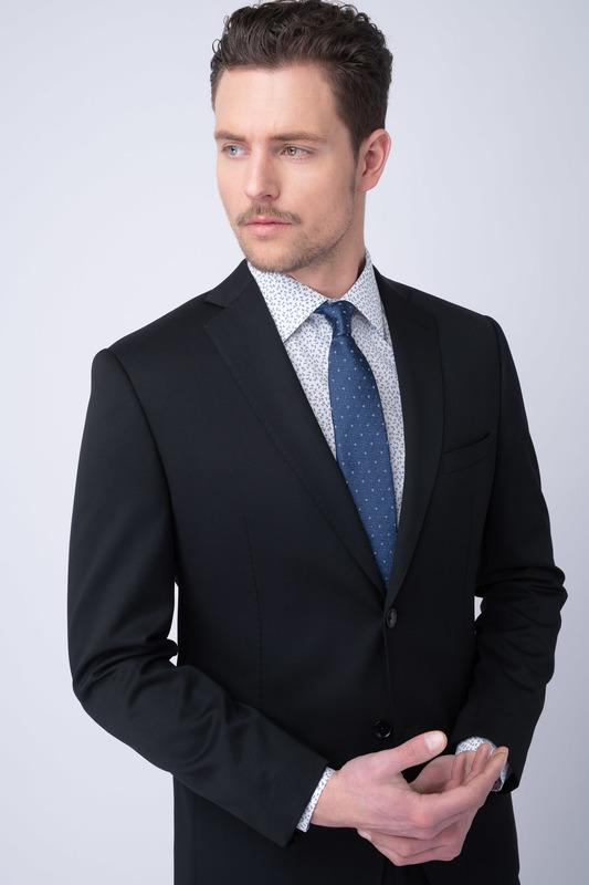 Oblekové sako essential sport, farba čierna