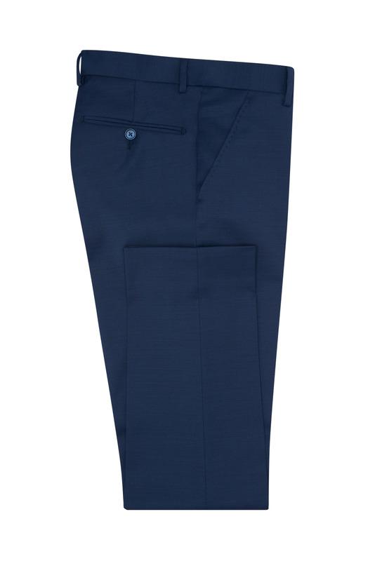 Oblekové nohavice formal extra slim, farba modrá