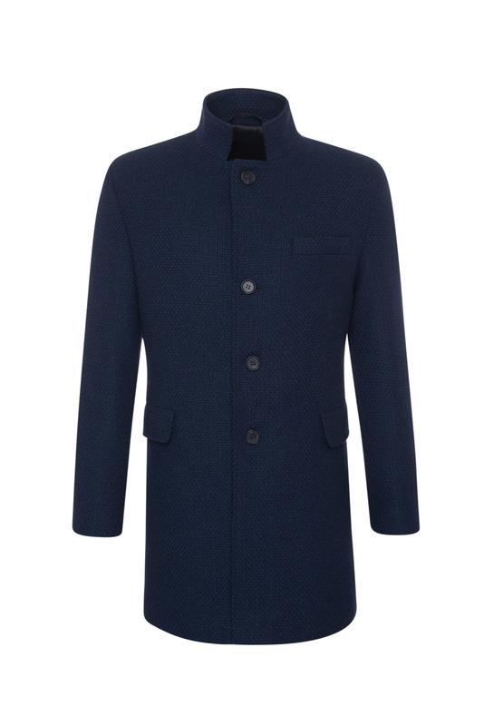 Plášť informal extra slim, farba modrá