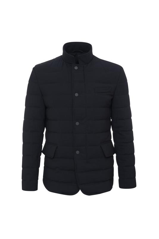 Plášť informal slim, farba čierna