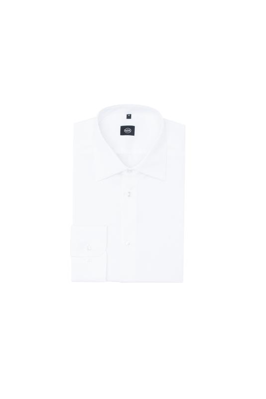 Košeľa formal slim, farba biela