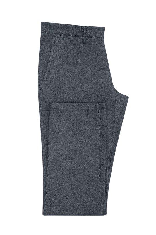 Nohavice informal slim, farba sivá