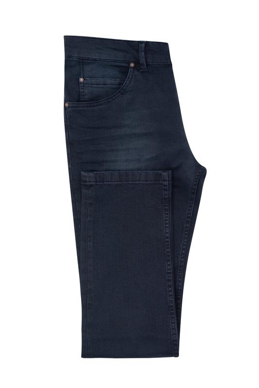 Jeansy informal slim, farba modrá