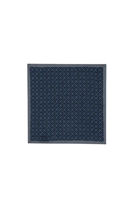 Vreckovka  formal, farba šedá, modrá