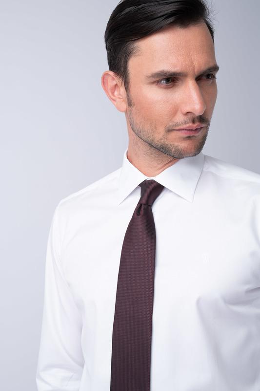 Kravata formal, farba vínová